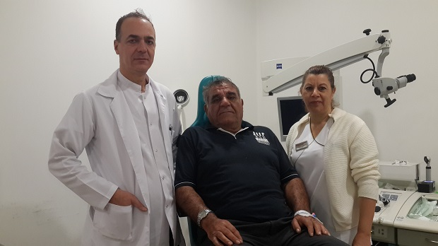 YDÜ'de ameliyat olan RUM