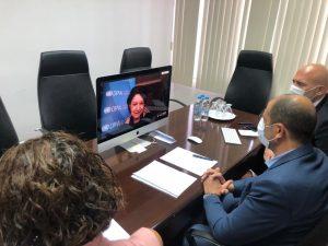 Özersay BM Genel Sekreter Yardımcısı Di Carlo ile Görüştü