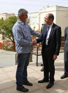Deputy Prime Minister and Minister of Foreign Affairs Kudret Özersay visited the villages of Gürpınar and Özhan. (22-3/2018)