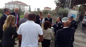 Özersay's visit to Beyarmudu and Pile (29 November 2018)