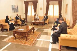 Deputy Prime Minister and Minister of Foreign Affairs Özersay returned pleased with Jeddah visit (12/04/2018)