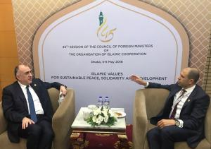 Deputy Prime Minister and Minister of Foreign Affairs Kudret Özersay attended the meeting of the Council of Foreign Ministers of the Organisation of Islamic Cooperation held in Bangladesh's capital Dhaka (5-6 May 2018)