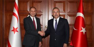 Deputy Prime Minister and Minister of Foreign Affairs Özersay met with Turkish Foreign Minister Mevlüt Çavuşoğlu (03/09/2018)