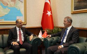 Özersay met with Akar (05/09/2018)