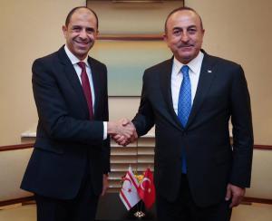 Özersay met with Çavuşoğlu (25/09/2018)