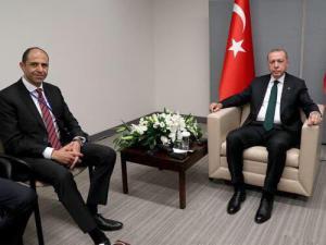 Özersay,  Erdoğan tarafından kabul edildi (25/09/2018)