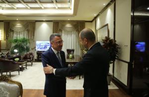 Özersay continues his contacts in Ankara. (16 October, 2018)