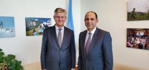 Minister Özersay's New York Contacts (September 2019)