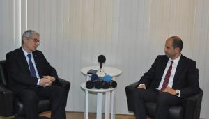 Başbakan Yardımcısı ve Dışişleri Bakanı Özersay Lefkoşa Büyükelçisi Kanbay ile görüştü (07/02/2018)