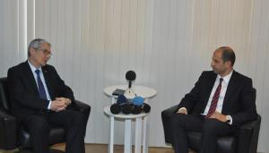 Deputy Prime Minister and Minister of Foreign Affairs Özersay met with Turkish Ambassador to Lefkoşa Kanbay (07/02/2018)