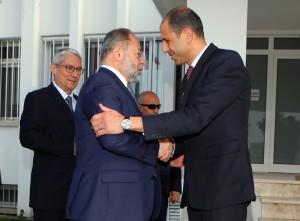 Başbakan Yardımcısı ve Dışişleri Bakanı Kudret Özersay, Türkiye Cumhuriyeti Başbakan Yardımcısı Recep Akdağ ile görüştü (11.04.2018)