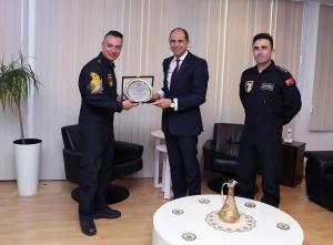 Özersay, Solo Türk ekibi temsilcilerini kabul etti (14.11.2018)