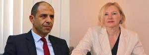 Minister Özersay met with Spehar (19 December 2018)