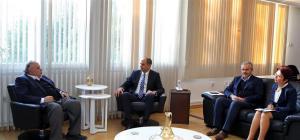 Minister Özersay received Eastern Mediterranean University Board of Trustees (24 December 2018)