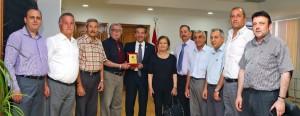 Dışişleri Bakanı Tahsin Ertuğruloğlu KKTC Şehit Aileleri ve Malul Gaziler Derneği'nden bir heyeti kabul etti  (13 Mayıs 2016)